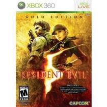 Jogo Resident Evil 5 Gold Edition Para Xbox 360 Lacrado