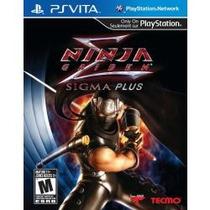 Jogo Ps Vita Lacrado Ninja Gaiden Sigma Plus Para Psvita