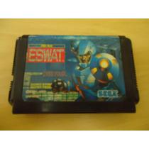Cartucho De Mega Drive E-swat Original Japonesa
