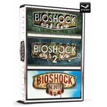 Bioshock Triple Pack - Jogo Digital E Original - Steam Gift