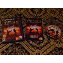 Ps2 - Star Wars Episode 3 Revenge Of The Sith