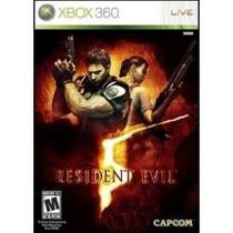 Jogo Resident Evil 5 Platinum Hits Para Xbox 360 Lacrado