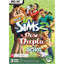 Game Pc The Sims 2 Dose Dupla Bichos Original E Lacrado