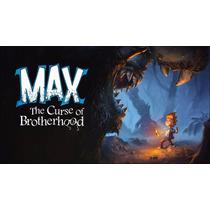 Max A Maldição Da Irmandade Jogo Xbox 360 Mídia Digital