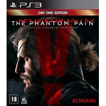 Novo Jogo Metal Gear The Phantom Pain Ps3 Original E Lacrado