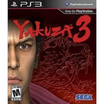 Promoção Jogo Yakuza 3 Para Ps3 Americano Lacrado E Original