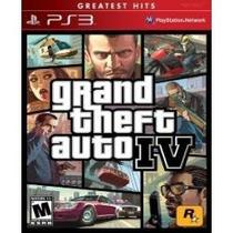 Grand Theft Auto Iv (gta 4) - Jogo Para Playstation 3 Ps3