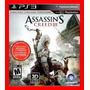 Assassins Creed Ac3 Em Pt=frete Gratis