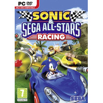 Pc Sonic Sega All Stars Racing -novo-original-lacrad