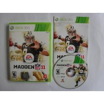 Madden Nfl 11 - Xbox 360 Completo Americano Original
