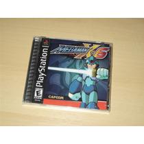 Ps1 - Megaman X6 / Novo E Lacrado (mega Man / Rockman)