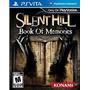 Jogo Silent Hill Book Of Memories Lacrado Para Ps Vita