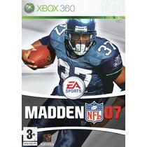 Jogo Xbox 360 - Madden Nfl 2007 (original/eua/frete: R$5)