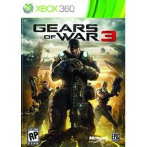 Gears Of War 3 Exclusivo Xbox 360 - Legendado Português Br