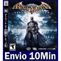 Batman Arkham Asylum Ps3 Código Psn
