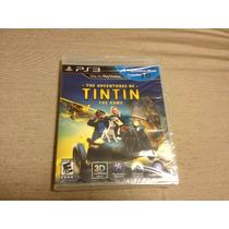 The Adventures Of Tintin The Game Lacrado Compativel Com 3d