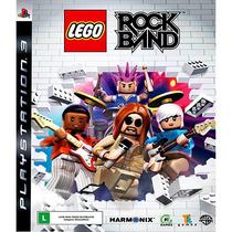 Lego Rockband Frete Grátis Jogo Ps3 Novo Lacrado Rock Band !