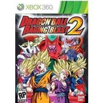 Jogo Lacrado Original Dragon Ball Raging Blast 2 Do Xbox 360