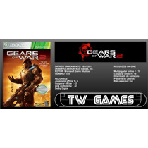 Gears Of War 2 - Jogo Completo - Download Xbox Live