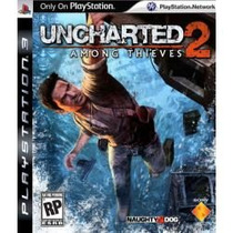Jogo Americano Uncharted 2 Among Thieves Pra Ps3 Lacrado