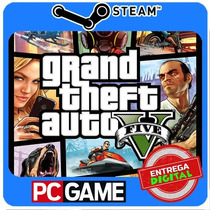 Grand Theft Auto V Pc Steam Cd-key Gtav Gta5