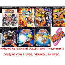 Naruto Collection - Playstation 2 - Frete Gratis