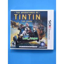 The Adventures Of Tintin - Nintendo 3ds - Lacrado !!!