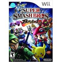 Super Smash Bros Brawl - Ntsc - Americano - Wii - Lacrado