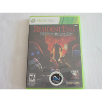 Xbox 360 : Resident Evil Operation Ranccoon City Novo Lacrad