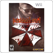 Resident Evil The Umbrella Chronicles - Nintendo Wii Lacrado