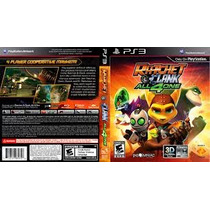 Jogo Ps3 Ratchet & Clank All 4 One