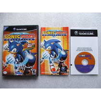 Game Cube: Sonic Gems Collection Americano Completo!! Raro!!