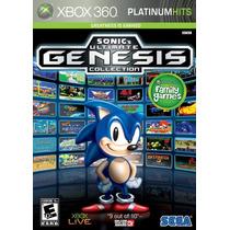 Sonics Ultimate Genesis Collection Xbox 360 Original