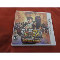 Super Street Fighter 4 3d Edition, Nintendo 3ds