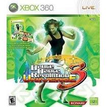 Dance Dance Revolution Universe 3 - Jogo + Tapete Xbox 360