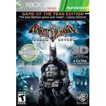 Jogo Semi Novo Ntsc Batman Arkham Asylum Para Xbox 360