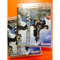Jogo Inversion Playstation 3, Novo, Lacrado Pronta Entrega