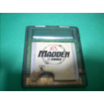 Madden 2002 Original Para Game Boy Color