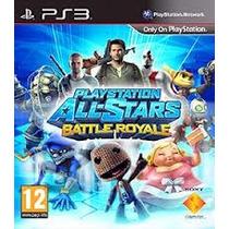 Jogo Playstation All Stars Battle Royale Ps3 Em Português