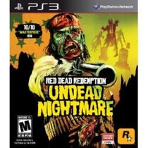 Jogo Americano Red Dead Redemption Undead Nightmare Para Ps3