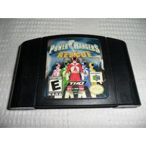 Power Rangers Lightspeed Rescue E Blast Corps P/ Nintendo 64