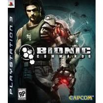 Jogo Americano Da Capcom Bionic Commando Para Ps3 Play3