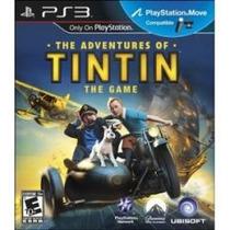 Jogo The Adventures Of Tintin 3d The Game Em Português Ps3