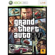 Gta 4 - Grand Thef Auto Iv - Xbox 360 - Original E Completo
