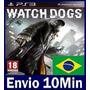 Watch Dogs Ps3 Código Psn Dublado