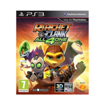 Game Ps3 Ratchet & Clank: All 4 One