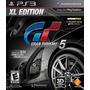 Gran Turismo 5 Xl Edition - Ps3 - Jogos Ps3 - Mídia Física