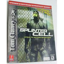 Livro Manual Guia Splinter Cell Guia Estrategia Oficial
