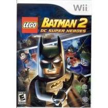 Jogo Lacrado Lego Batman 2 Dc Super Heores Para Nintendo Wii