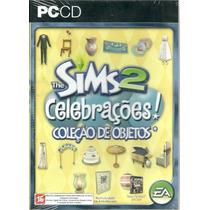 Game - Pc Cd Rom Jogo The Sims 2 Celebrações - G0048
